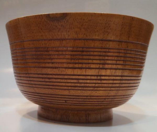 کاسه چوبی بغل شیاری