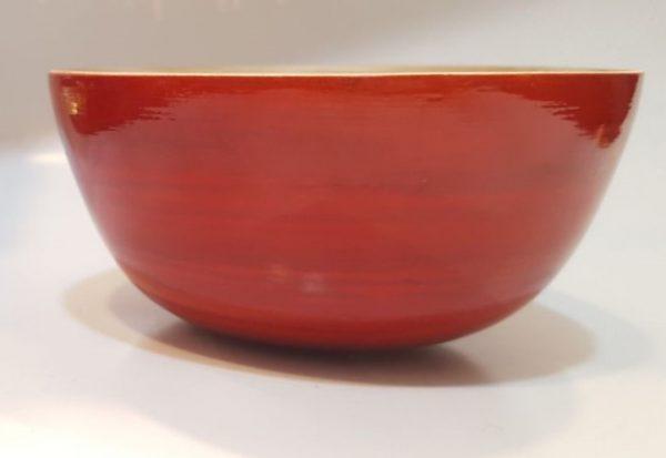 کاسه گرد کوچک رنگی