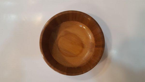 کاسه چوبی بامبو