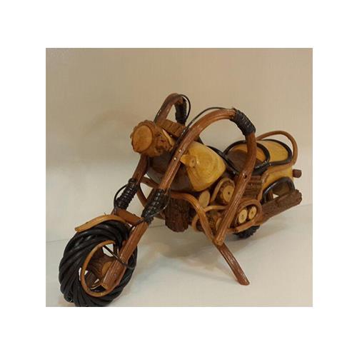 موتور هارلی چوبی دکوری